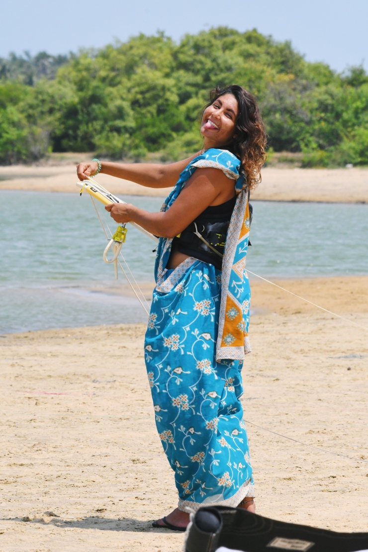 2019 05 12 05.07.10 1 - Have you ever Kiteboarded in a Saree?